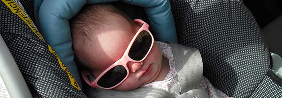 Flame retardants and car seats? Still a thing.