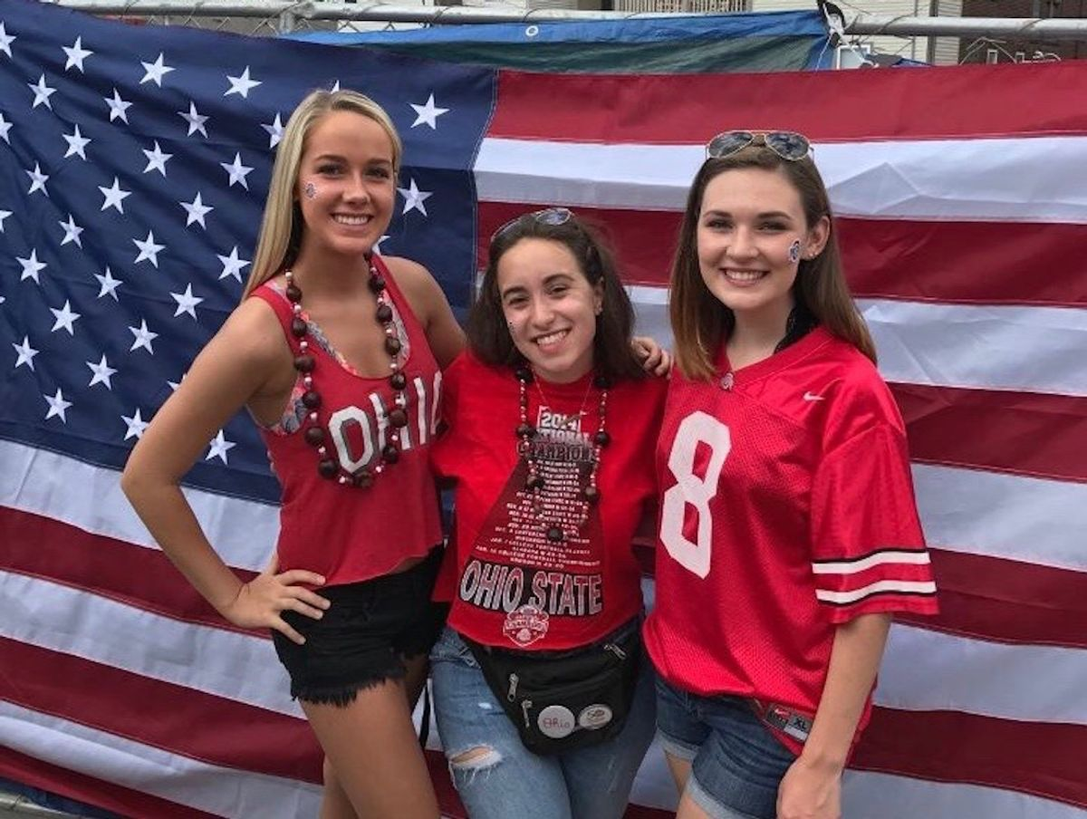 7 Stages Of Game Day In Columbus For Ohio State Girls