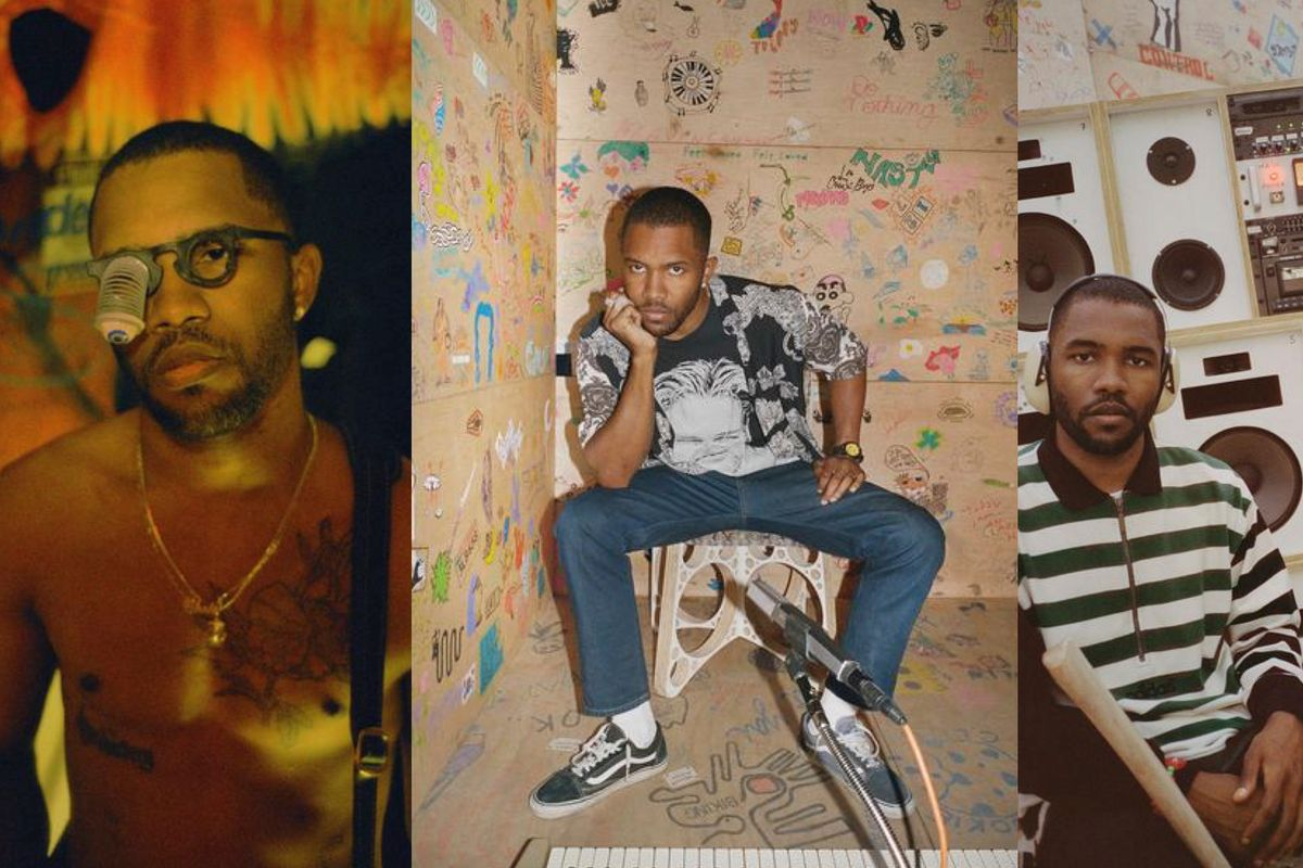 Frank Ocean Shares 32-Page Visual Essay with i-D