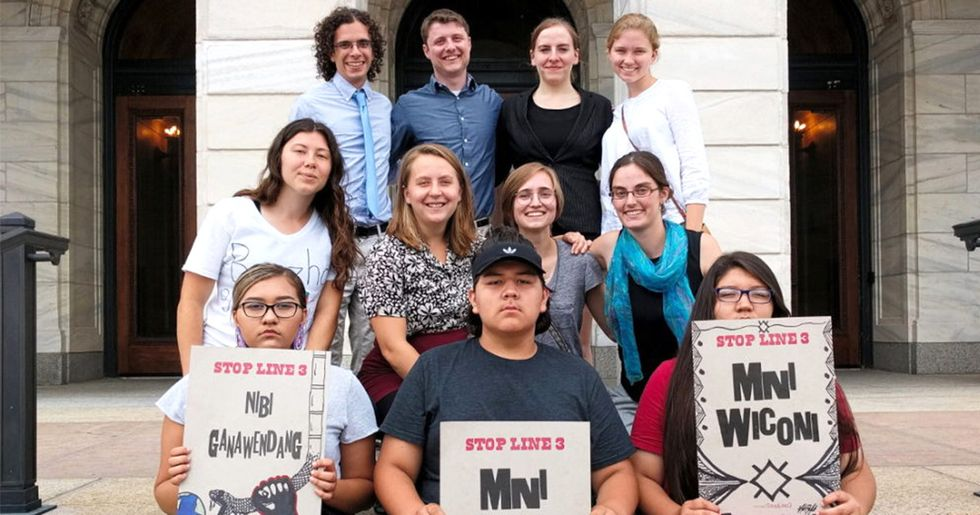 'Landmark Decision' Casts Youth as Official Intervenors in Pipeline Case
