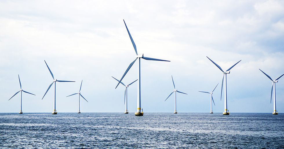 Open Ocean Wind Farms Could Power the World