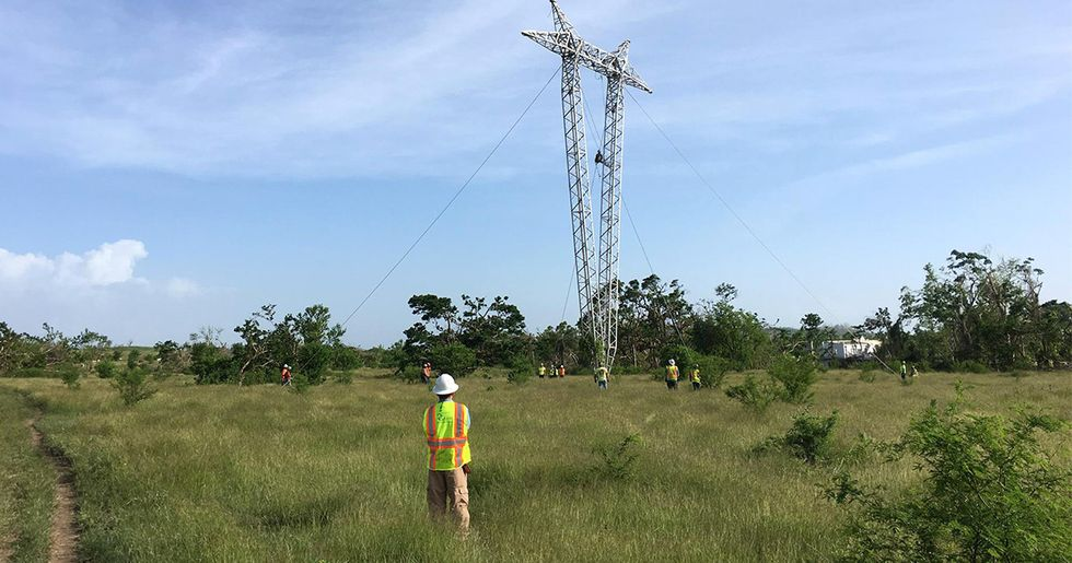 Two-Person Company Gets $300 Million Contract to Restore Puerto Rico's Power Grid, Raising Questions