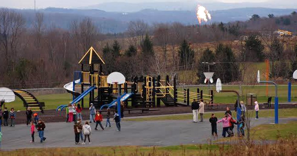 Study: Fracking Chemicals Harm Kids' Brains