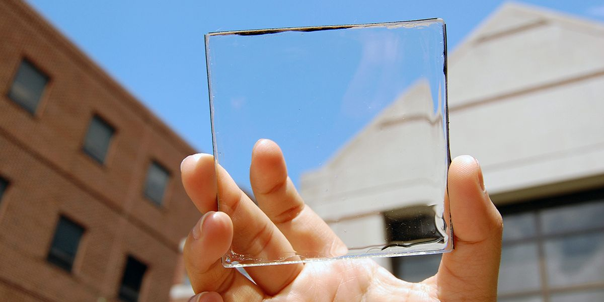 Solar Windows Could Meet 'Nearly All' of America's Electricity Demand