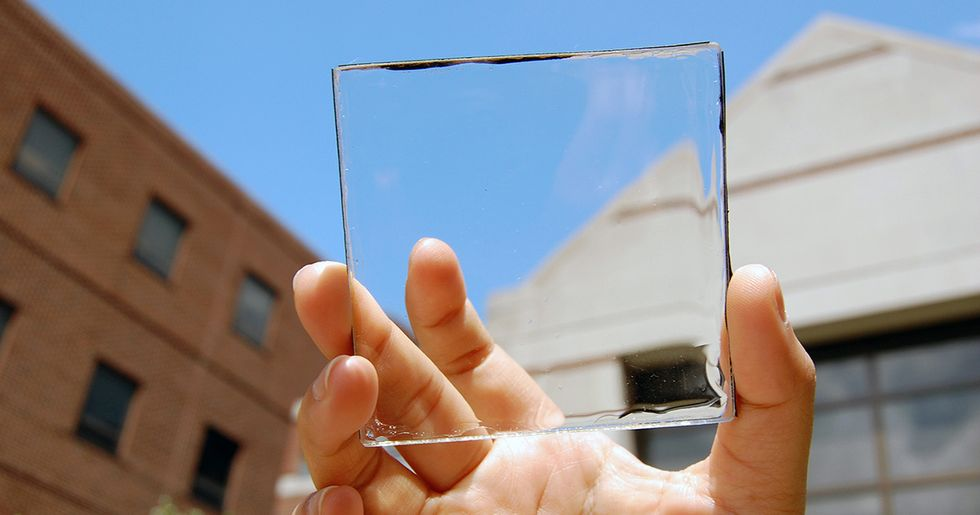 Solar Windows Could Meet Nearly All of America's Electricity Demand