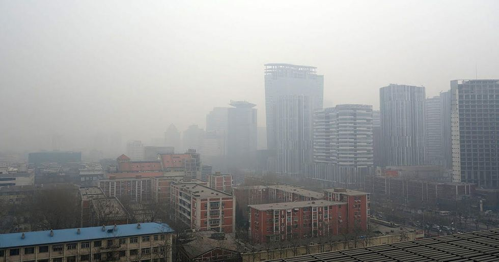 China Just Shut Down Thousands of Factories to Fight Pollution