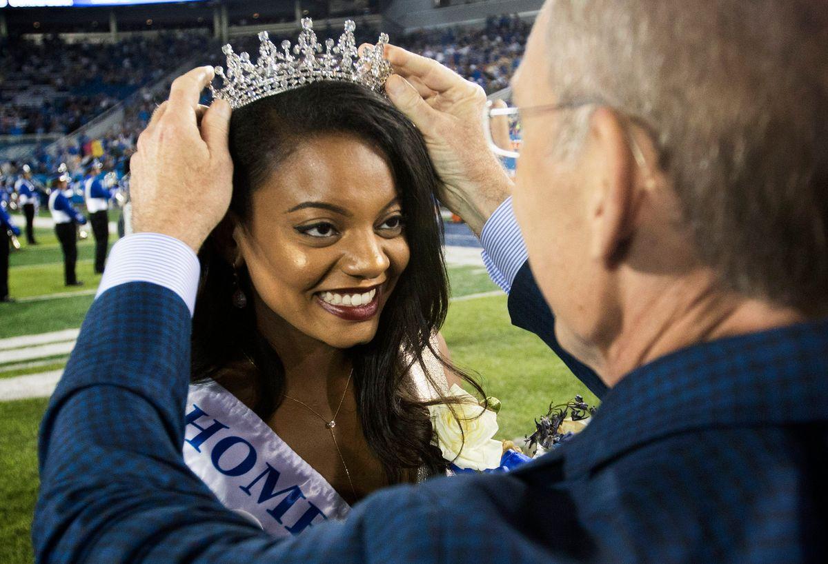 Jada Linton Makes University Of Kentucky Homecoming History