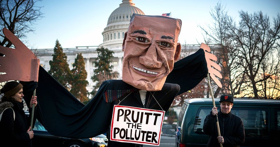 Memo to EPA Chief Pruitt: Let's End Subsidies For Fossil Fuels, Not Renewables