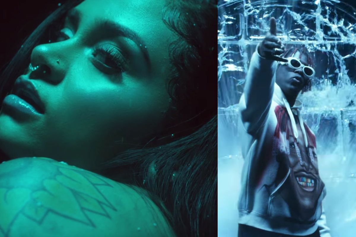 "Kehlani and Lil Yachty Sing in a Frosty, Frozen Palace for Calvin Harris' ""Faking It"" Video"