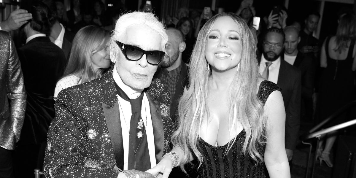 """Mariah Carey Serenading Karl Lagerfeld with """"Touch My Body"""" Should Go Down in History"""