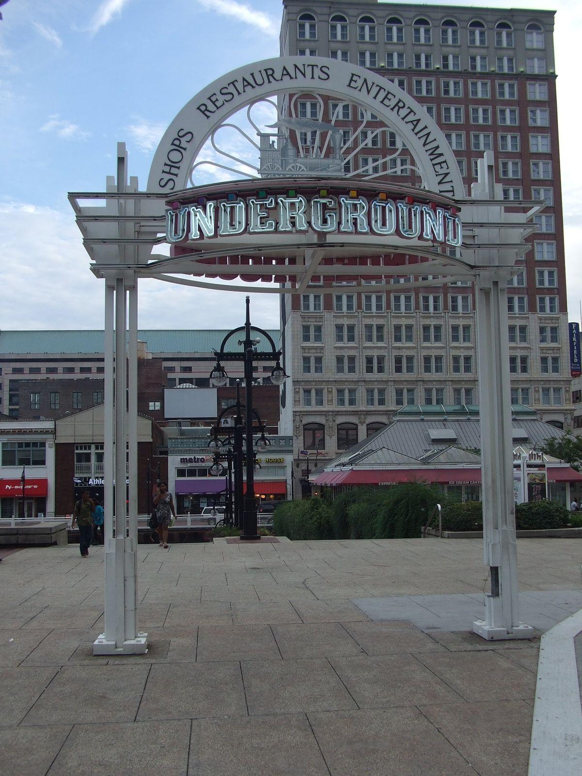 What happened to Underground Atlanta?