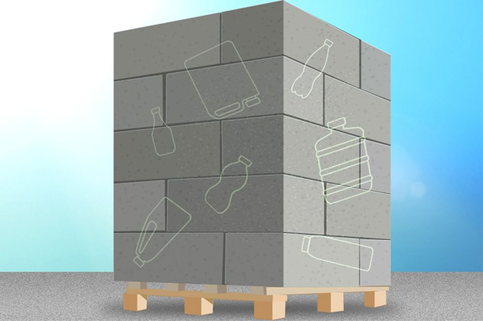 Recycled Plastic Can Fortify Concrete, MIT Students Find