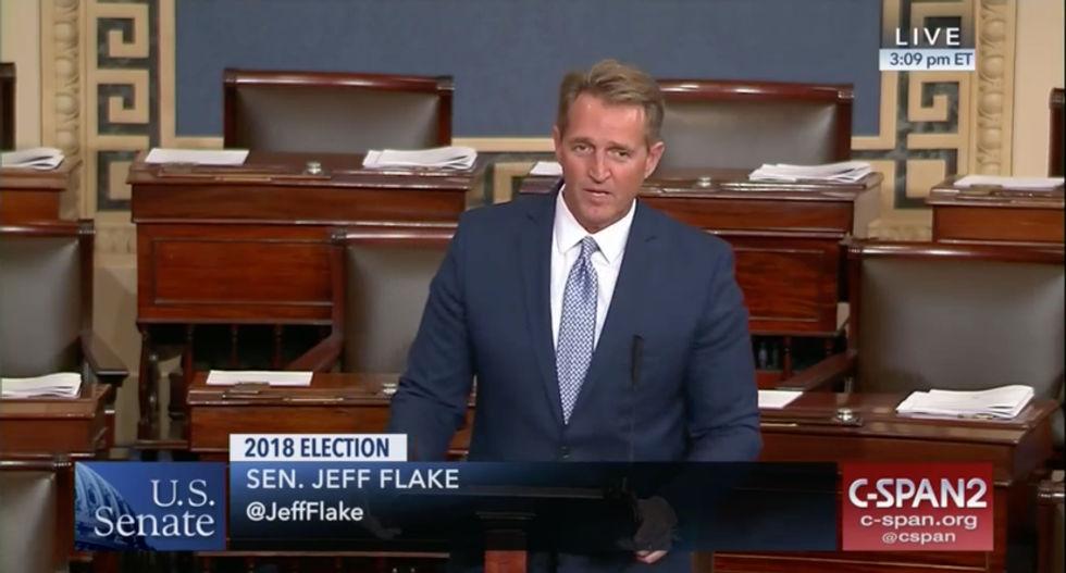 7 Reasons Why Jeff Flake Is Awful on Climate Change and Energy Justice