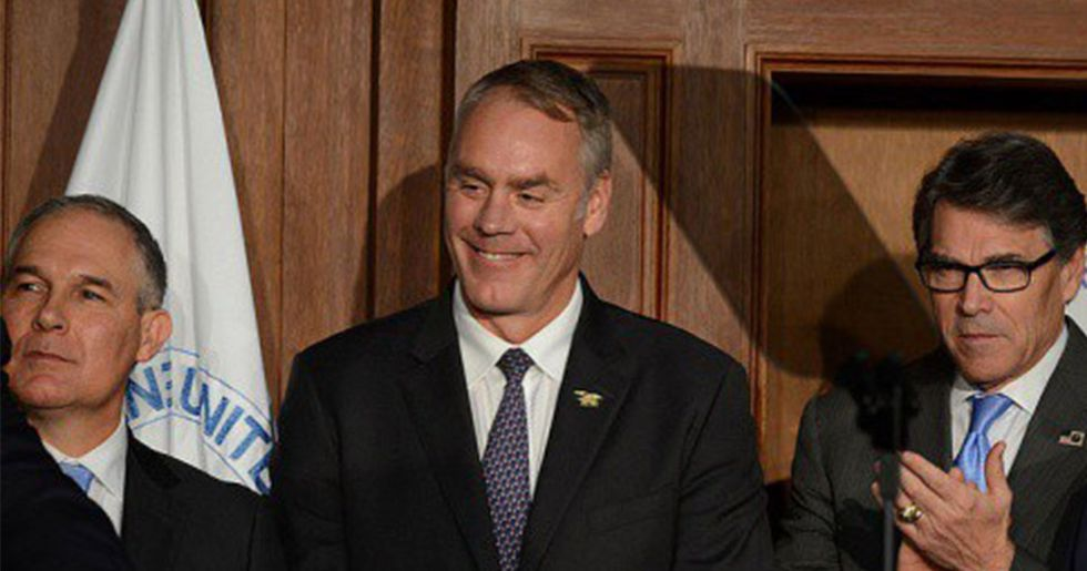 Pruitt, Zinke and Perry Target Clean Air and Water Rules to Curb 'Burdens' on Energy Sector