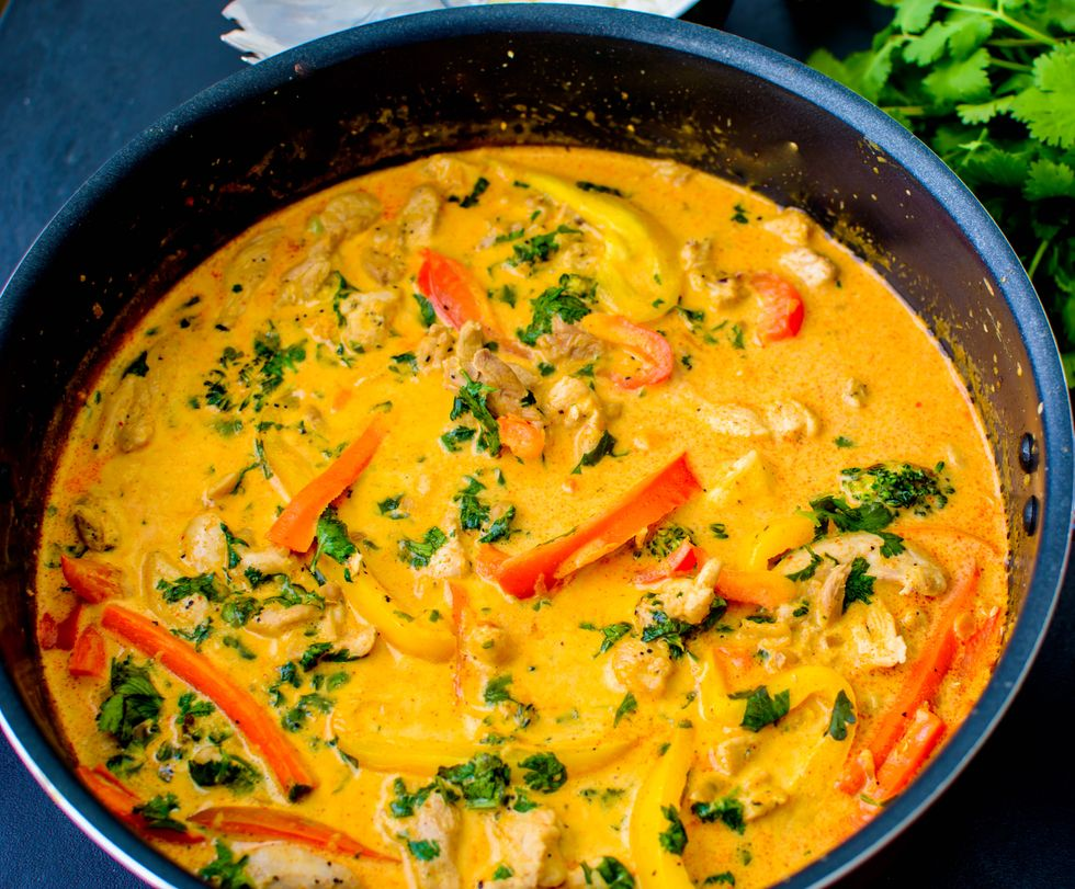 authentic thai red chicken curry  my recipe magic
