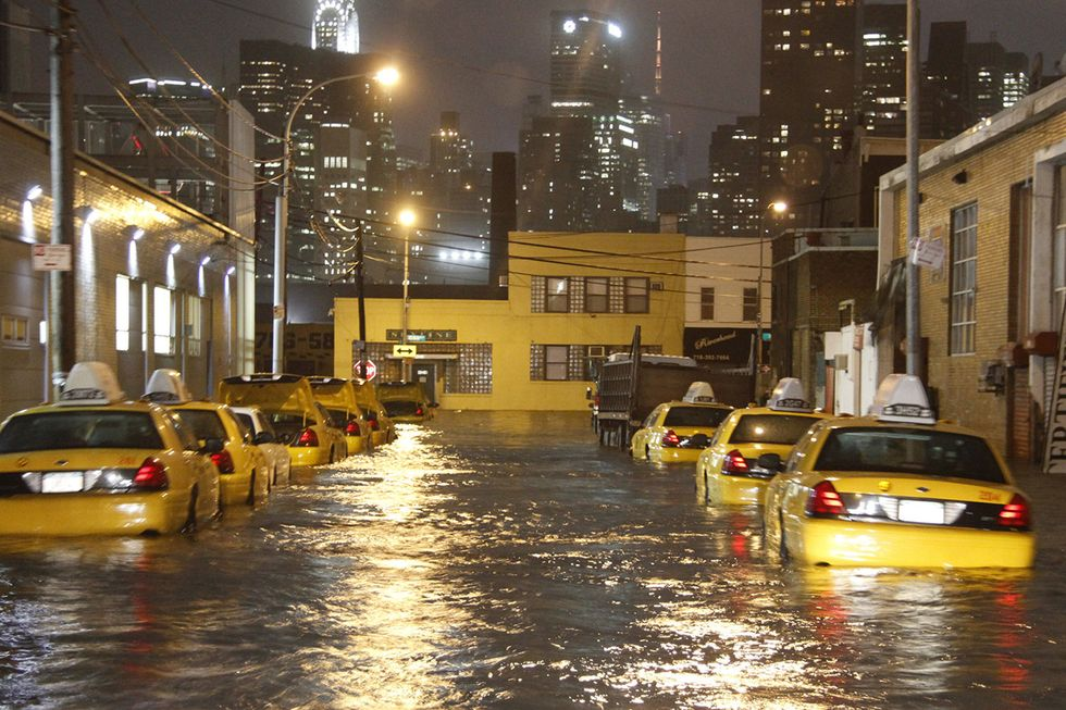 Rising Seas May Bring More Superstorms