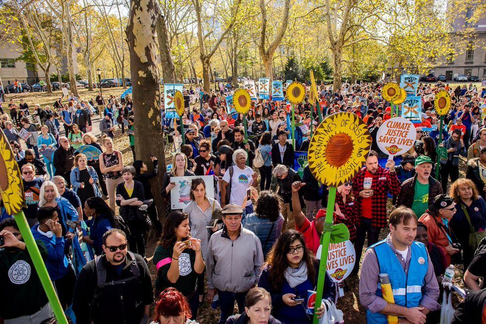 Thousands March on 5th Anniversary of Superstorm Sandy