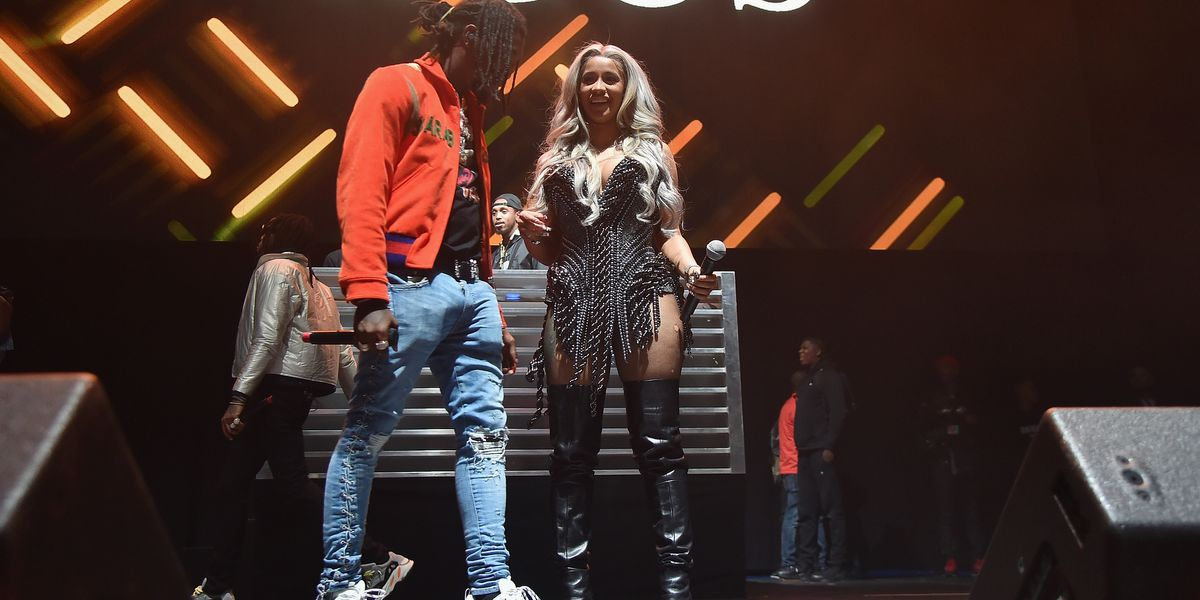 Watch Offset's Surprise Proposal to Cardi B Live on Stage