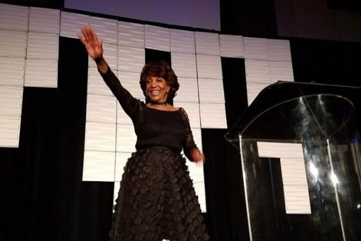 """Maxine Waters Leading an """"Impeach 45"""" Chant Will Make Your Day"""