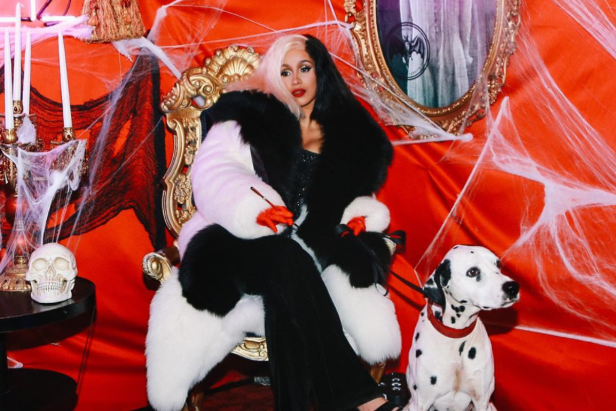 Cardi B's Cruella de Vil Impression Is Somewhat Flawed