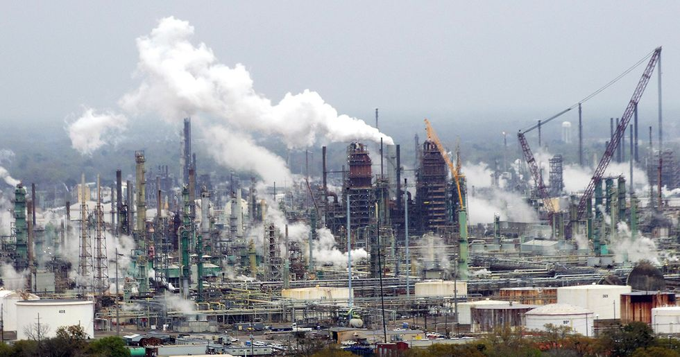 Exxon Refinery Catches Fire Day After Government Settles Over Pollution From Other Gulf Plants