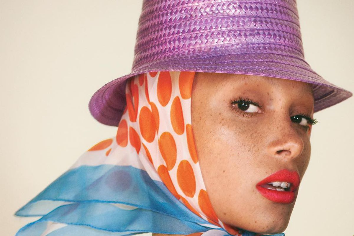 Adwoa Aboah Stars as the New Face of Marc Jacobs Beauty