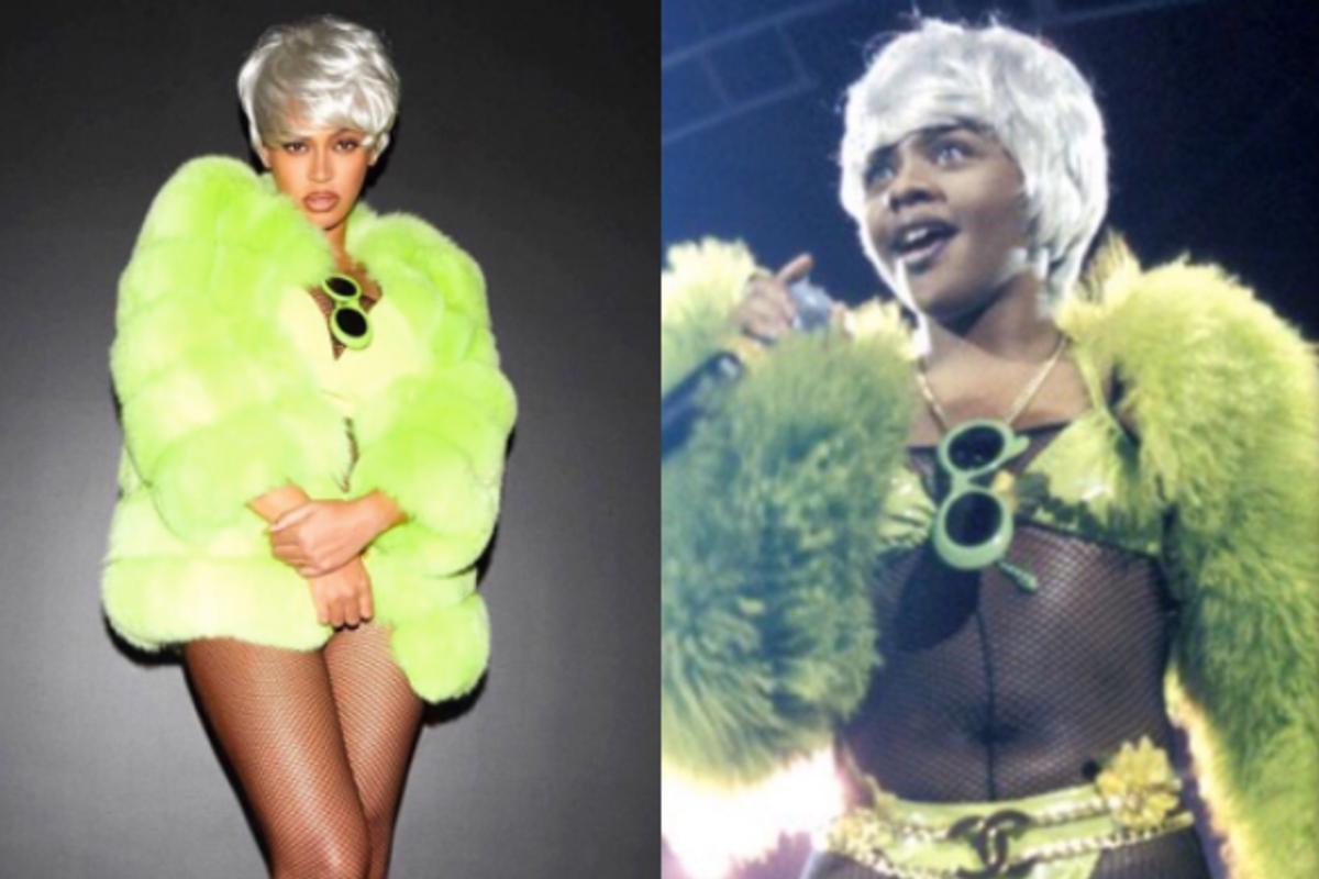Lil' Kim Loved Beyoncé's Halloween Tribute as Much as We Did