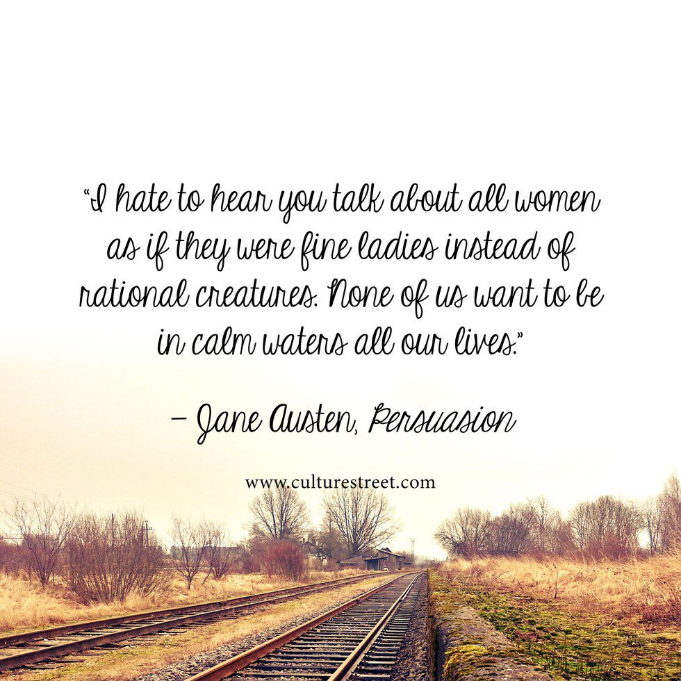 Eleven Jane Austen Quotes To Live By