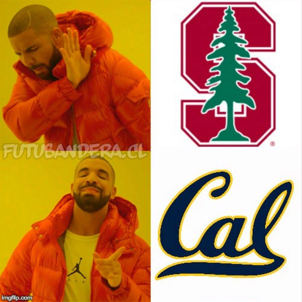 The Cal vs  Stanford Rivalry Told Through Memes