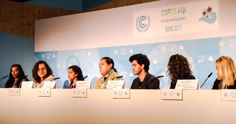 U.S. People's Delegation Takes on Trump Administration at COP23