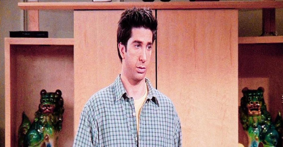 The Stages Of Pulling An All-Nighter In College, As Told By Ross Geller