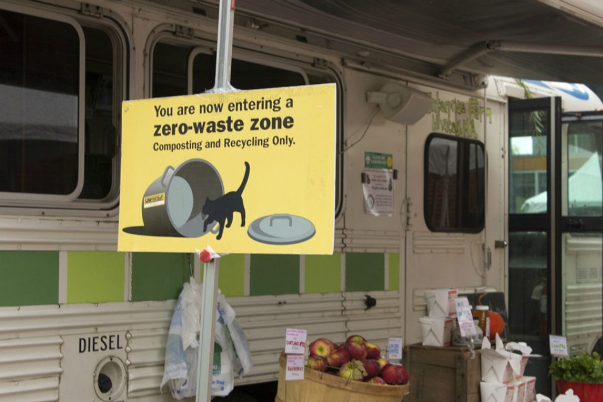 Living A 'Zero-Waste Life' Is Only Possible If You're Privileged