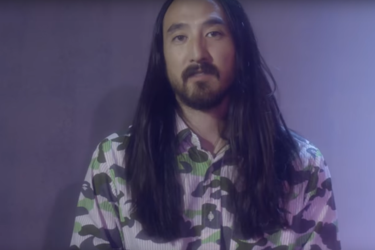 Steve Aoki Has Teamed Up With Strong By Zumba