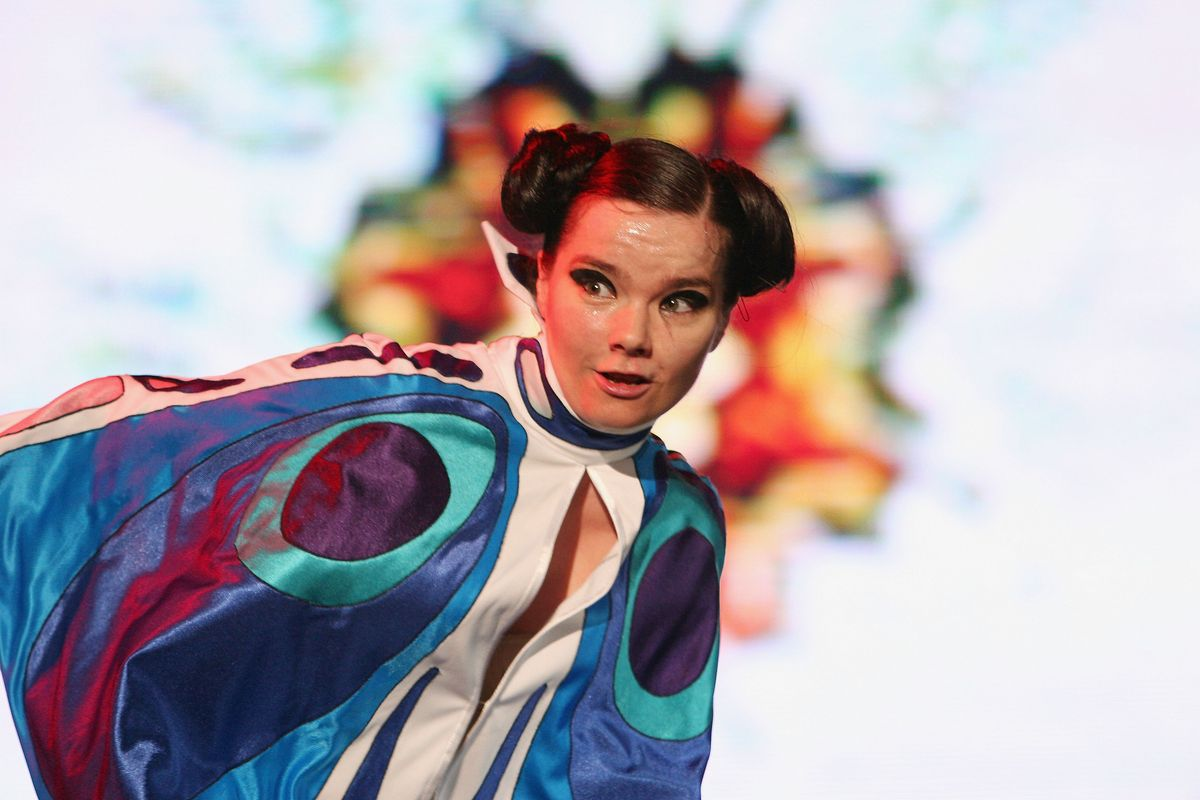 Björk Really Wants to Make Bitcoin Happen