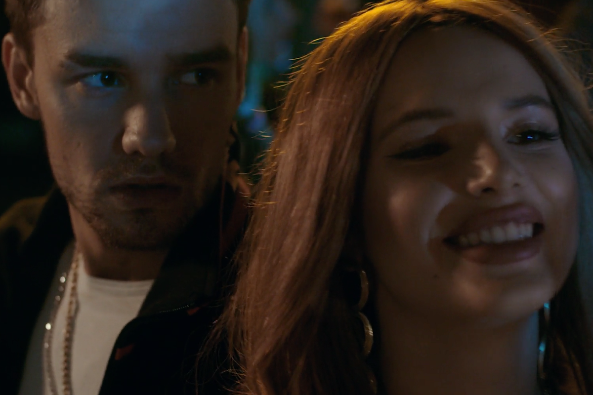 "Liam Payne Watches Over Bella Thorne's Messy Relationship in ""Bedroom Floor"" Video"