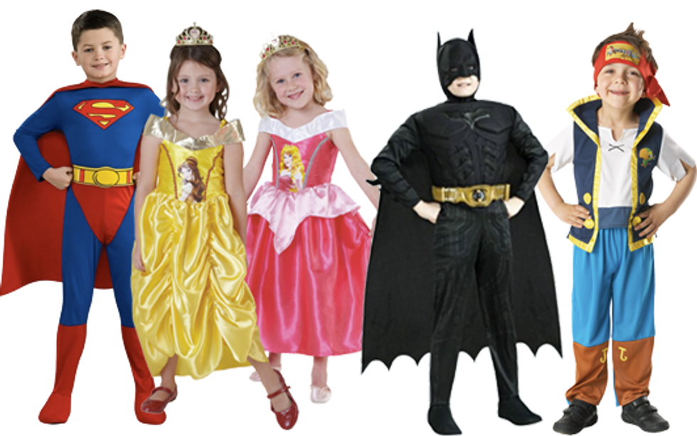 The Scary Evolution Of Halloween Costumes