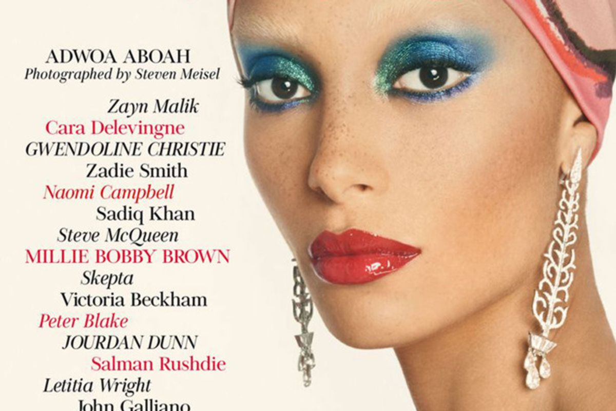 Presenting Edward Enninful's First Cover at the Helm of British Vogue