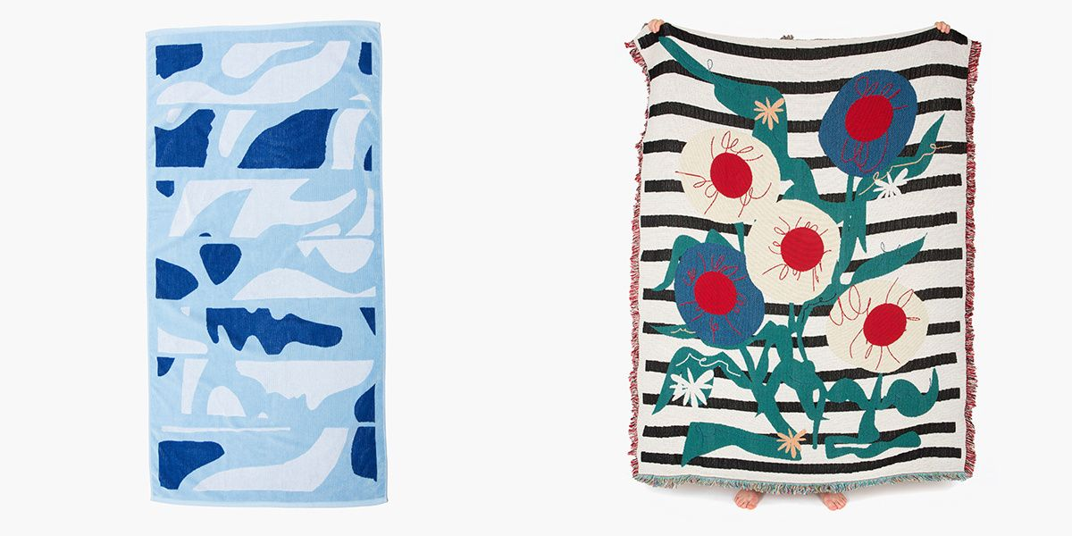 Peep Slowdown Studio's New Collection of Blankets and Towels