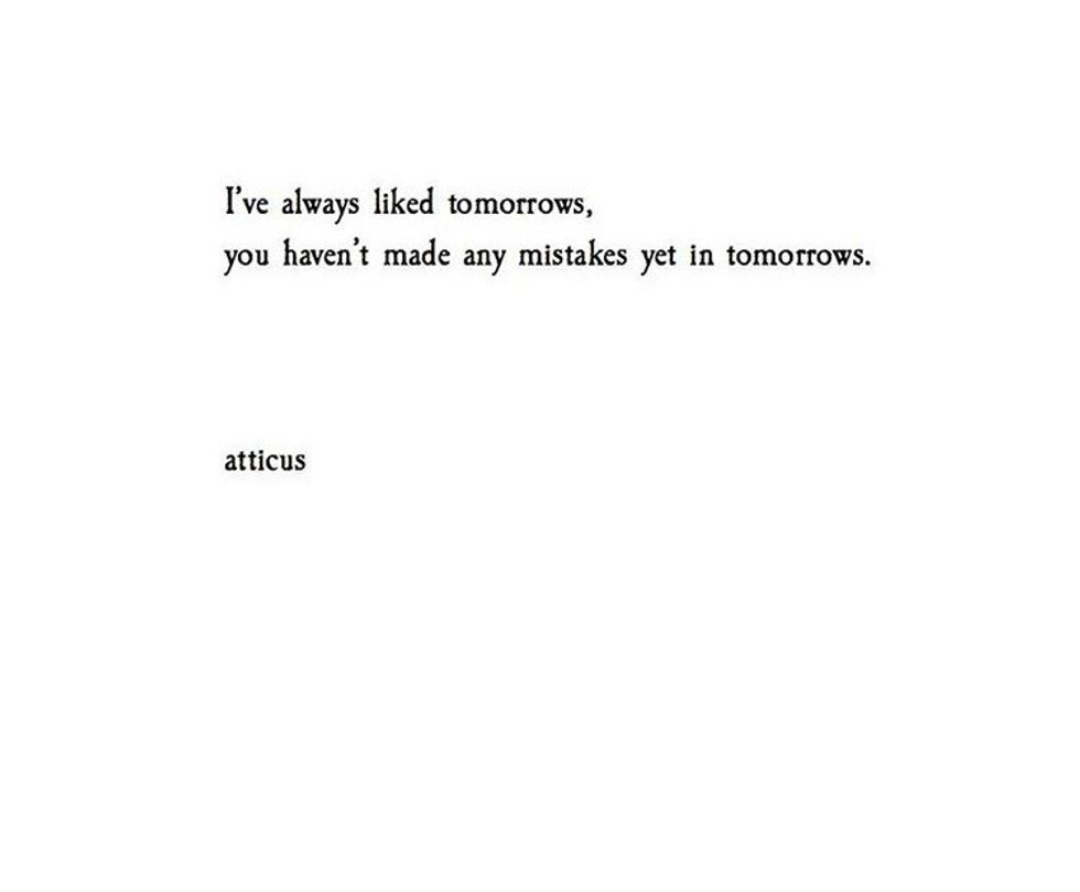 41 Of The Best Words By Secret Poet Atticus