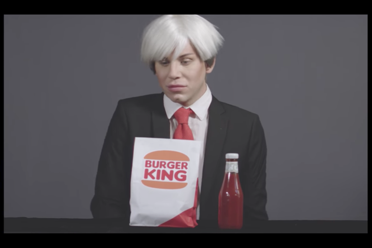 """Premiere: Watch Sharon Needles Give a Glorious Pop Art Eulogy in """"Andy Warhol Is Dead"""""""