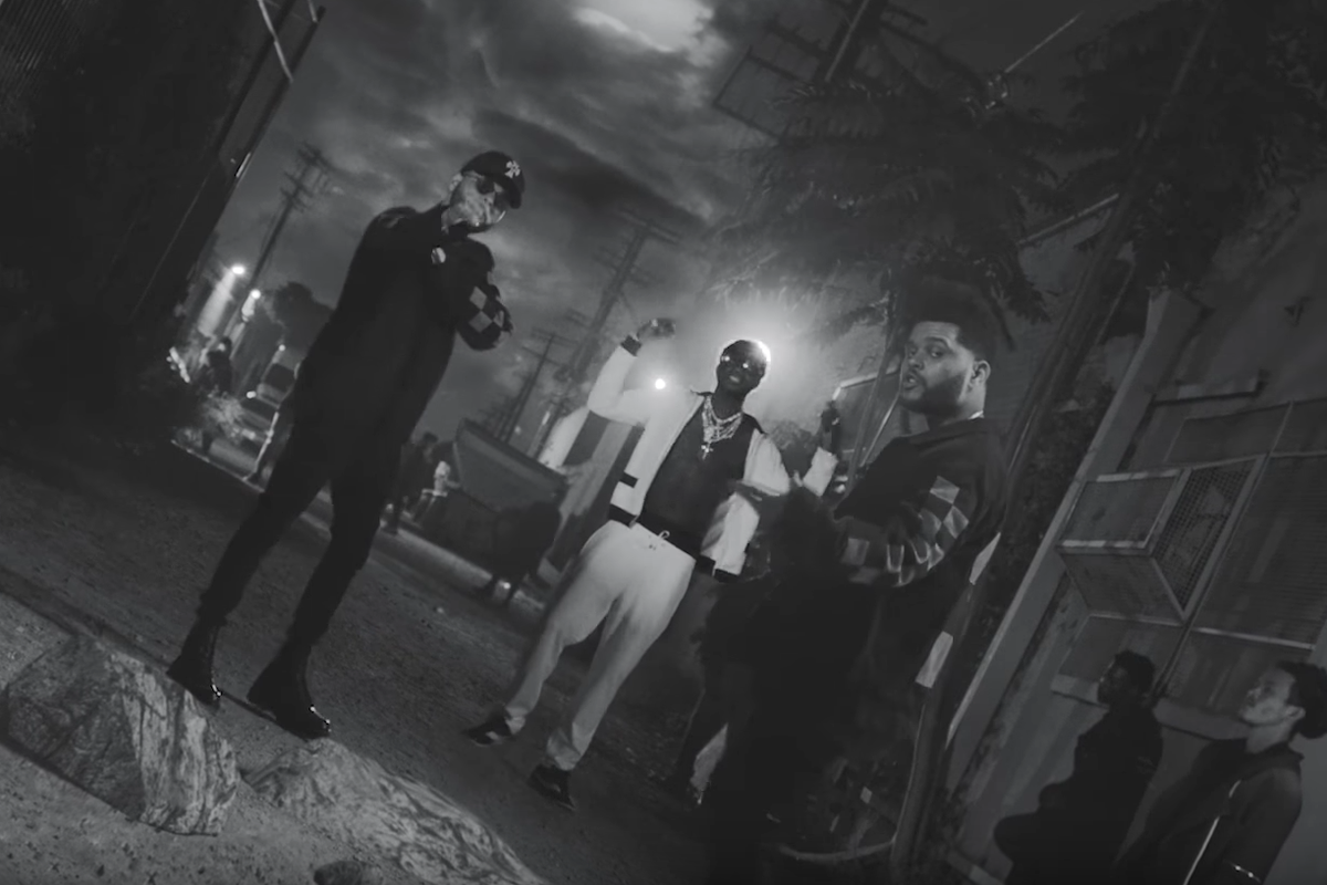 """Gucci Mane and The Weeknd Clone Themselves in New """"Curve"""" Video"""