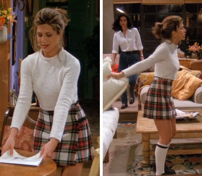 Iconic Female Characters And The Plaid Skirt
