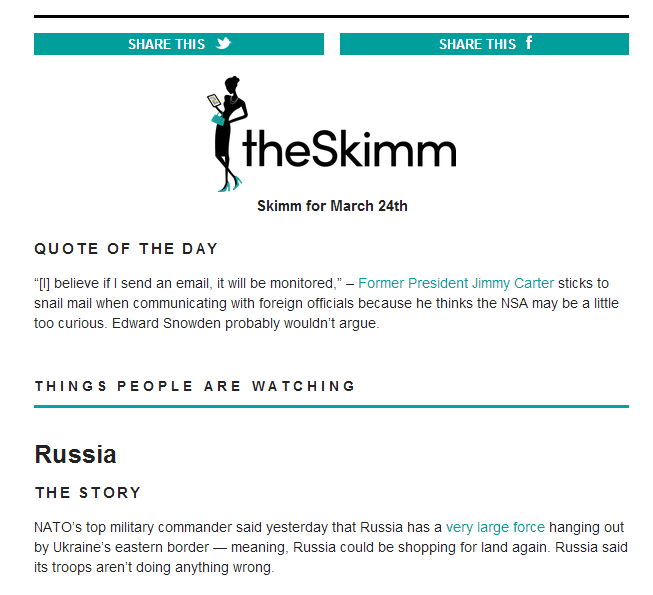TheSkimm: Making News Fun