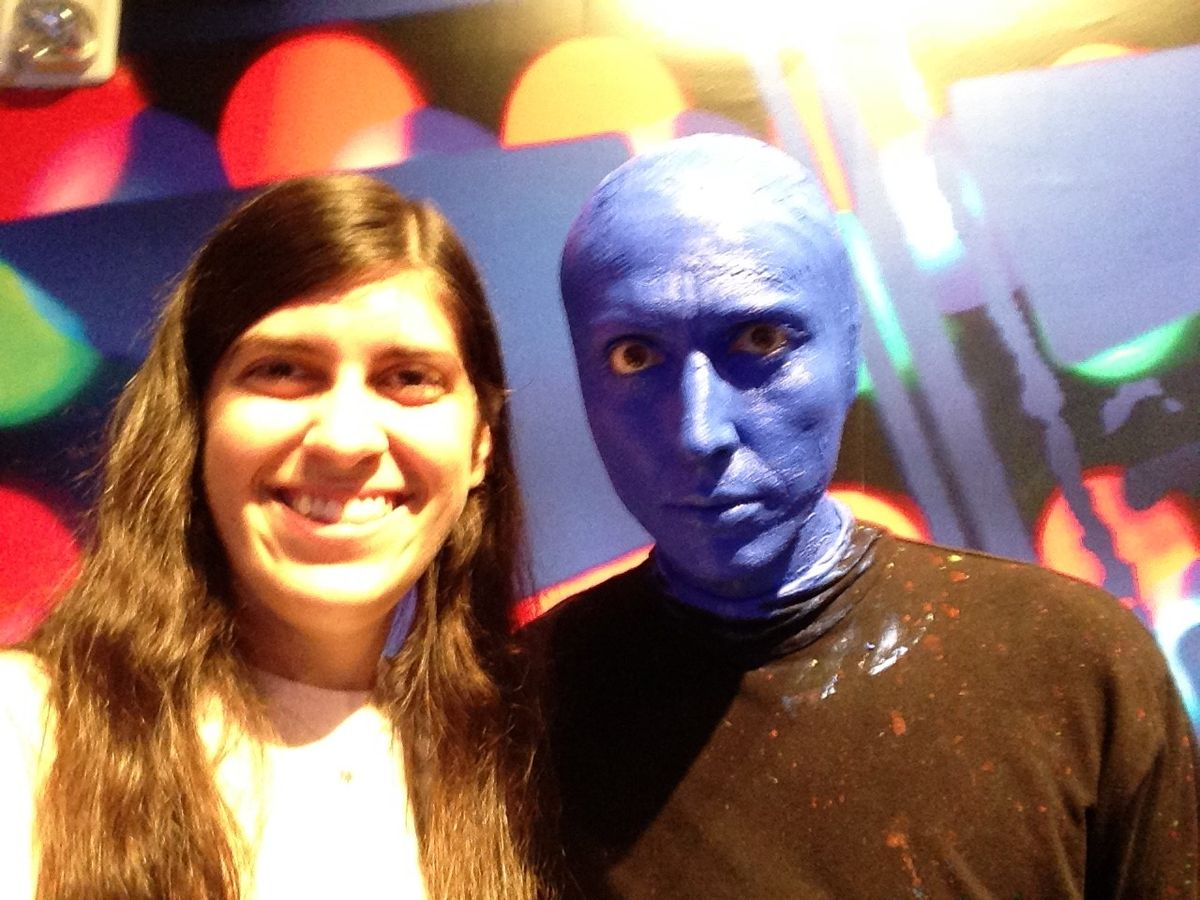 Breaking Down Barriers With The Blue Man Group