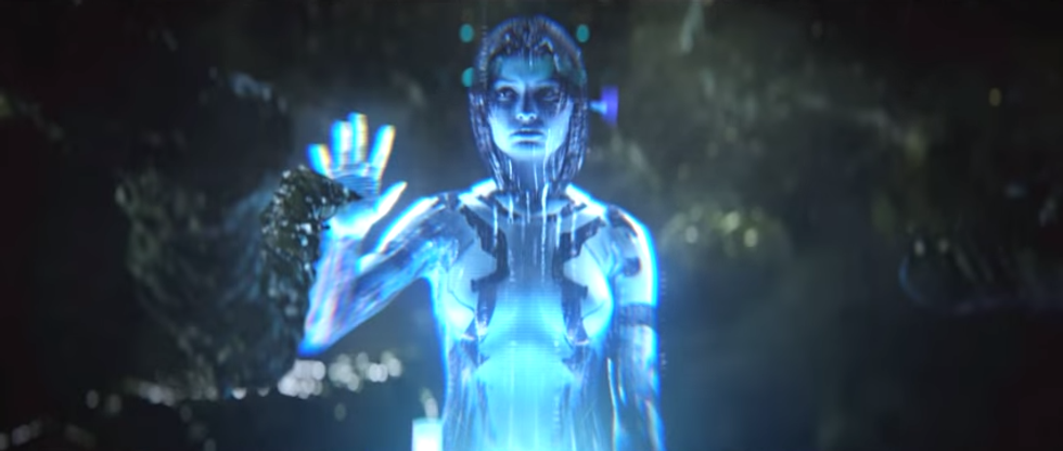 Cortana Is Not Who She Says She Is