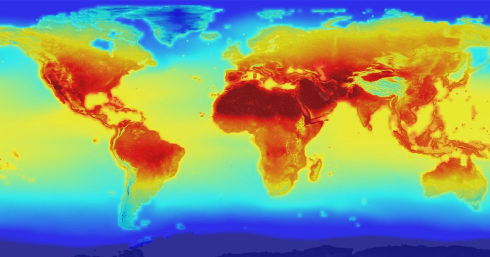 World Is Set to Warm 3.4°C By 2100