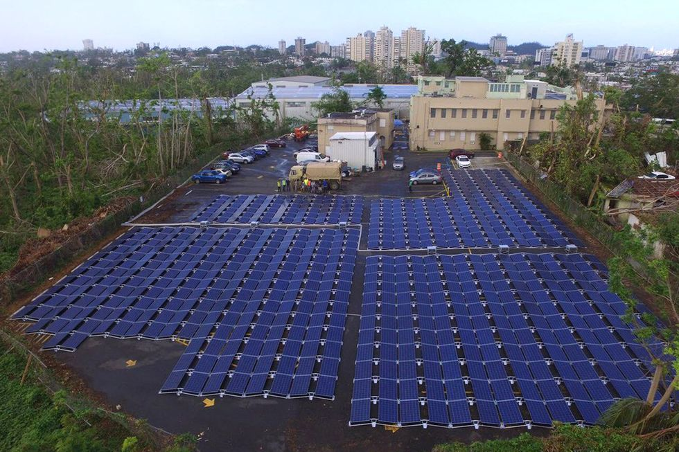 Puerto Rico Gov. to Bolster Island's Electric Grid With Renewables as Lights Go Out Again