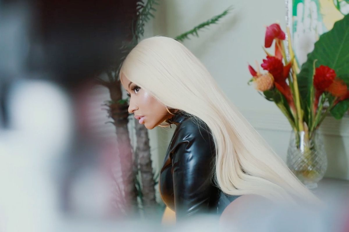 Watch This Behind the Scenes Video from Our Nicki Minaj Cover Shoot