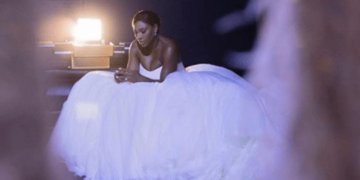 Serena Williams Is a Damn Dream in Her Alexander McQueen Wedding Gown