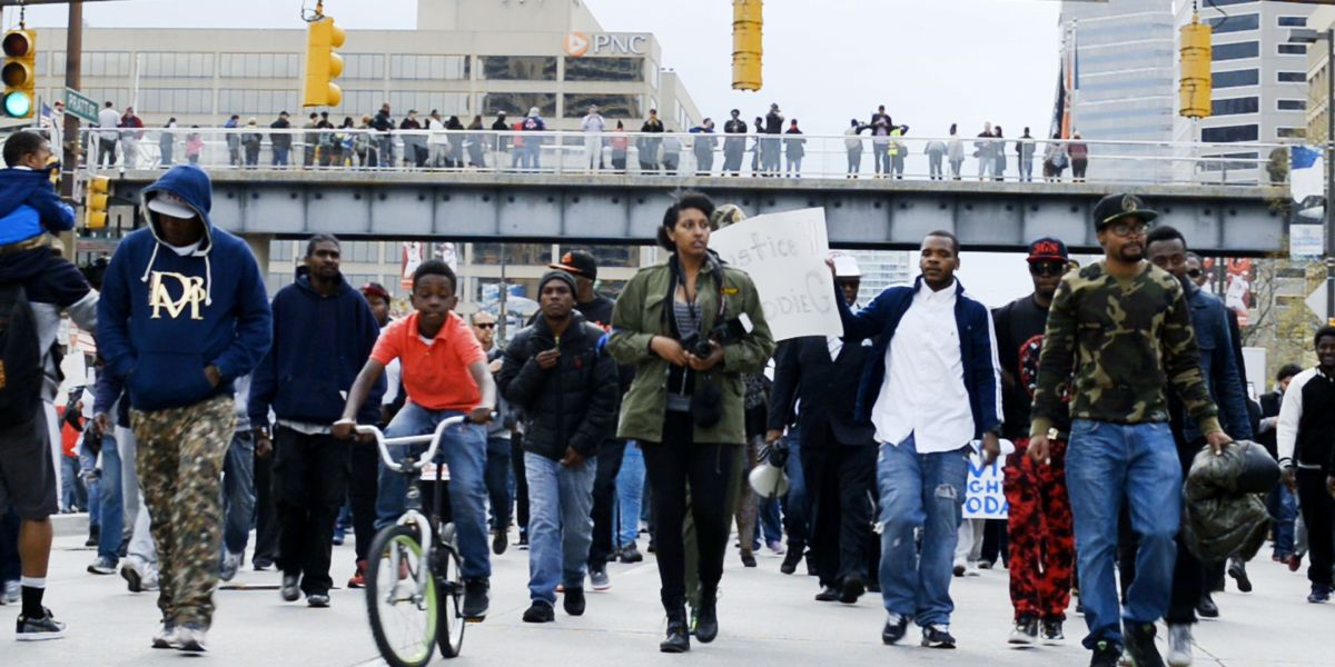 """Watch HBO's Gripping New Documentary """"Baltimore Rising"""""""
